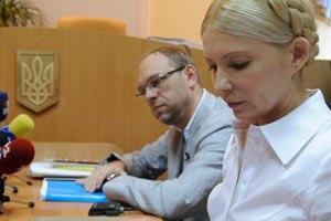 Поддержать Тимошенко пришел ее духовный наставник