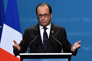 Олланд: решение боевиков перенести выборы - результат переговоров в Париже