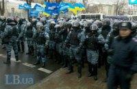 "К ""антимайдану"" двинулась колонна из 2 тыс. человек"
