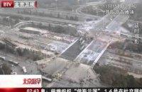 В Китае за 43 часа построили новый многополосный автомобильный мост