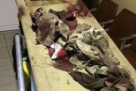 Два бойца морской пехоты ранены возле Мариуполя