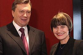 Янукович нашел сходство Украины со Швейцарией