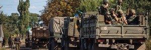 К силовикам в Иловайске отправили подкрепление