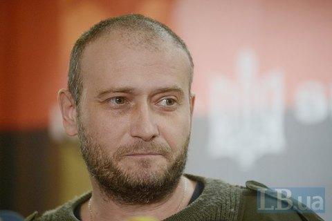 Ярош предложил амнистировать мукачевских бойцов в обмен на вступление ПС в армию