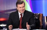 Янукович поставил Крым в пример другим регионам