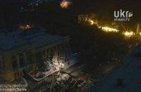 На Грушевского остается около 1 тысячи активистов