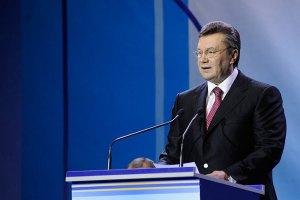 Янукович возлагает большие надежды на сотрудничество с компанией Chevron