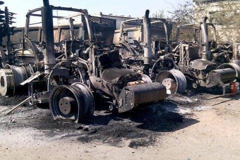 Агрохозяйство Ахметова в селе Чермалык попало под обстрел