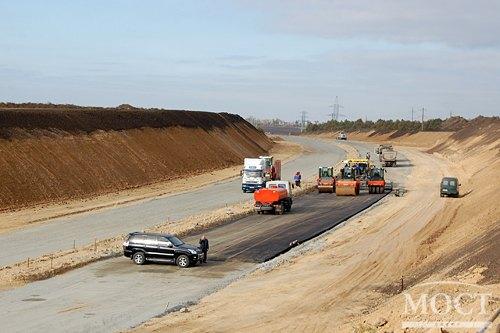 """Строительство объездной дороги """"Южный обход"""""""