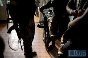 """Окруженный """"Донбасс"""" обстреляли из минометов, принуждая сдаться в плен"""