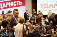 Кличко возглавил партию Порошенко