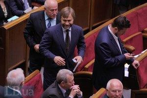 Новинский пока не определился по поводу вхождения в ПР