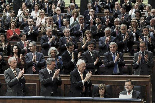 Испанский парламент после голосования против референдума о независимости Каталонии
