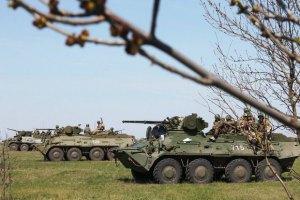 В Николаеве прошли крупнейшие за 15 лет военные учения