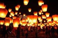 На крымских курортах запретили китайские фонарики