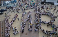 У Києві пройшов 17-й Мегамарш вишиванок