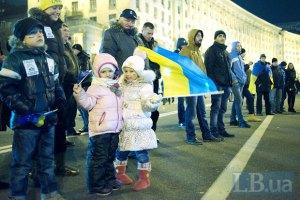 Хайден Панеттьери выступила на Майдане Независимости