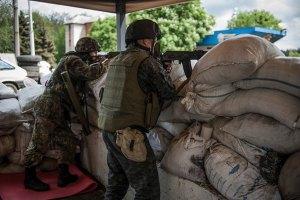Солдаты отбили атаки боевиков у Славянска и Изюма