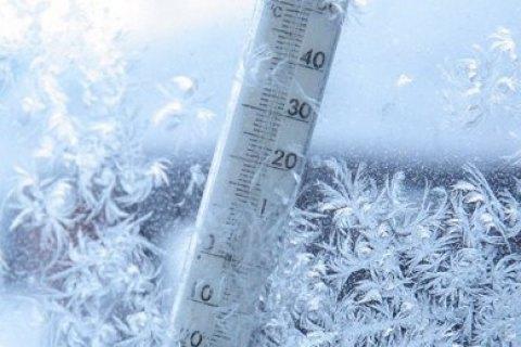 В Украине от морозов погибли 40 человек