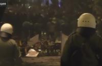 В Афинах произошли беспорядки из-за визита Обамы