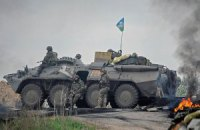 В Славянске позиции силовиков обстреляли из минометов