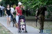 """Батальон """"Донбасс"""" помогает патрулировать город Курахово"""