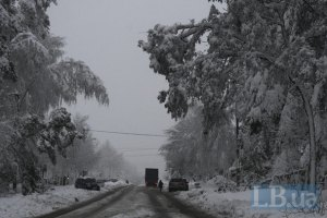 ГАИ ограничила движение в Сумской и Черниговской областях