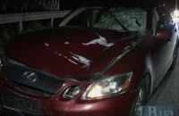 В Киеве на Богатырской Lexus сбил насмерть пешехода на переходе