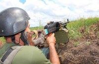 С полуночи в зоне АТО произошло 20 обстрелов украинских позиций