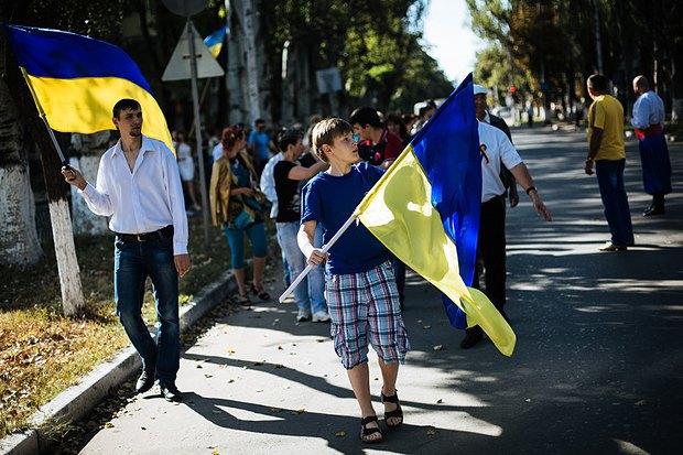 День флага в Славянске