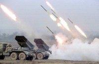 """Силы АТО уничтожили два танка, """"Ураган"""" и шесть """"Градов"""""""