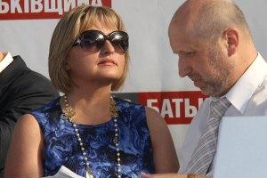 Турчинов и ряд нардепов пришли поддержать Луценко