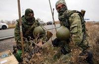 Боевики 9 раз обстреляли силы АТО в воскресенье