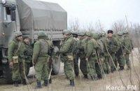 Российские войска продолжают блокировать части ВМС в Крыму, - Минобороны