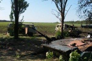 После расстрела под Волновахой на помощь бойцам АТО прибыли вертолеты
