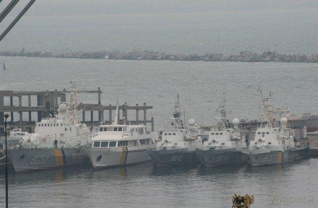 В Одессу прибыли крымские корабли морской охраны