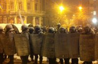 Митингующие практически оцепили Мариинский парк (онлайн-трансляция)