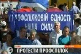 Харьков бастует против повышения цен на газ