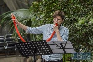 В киевском ботаническом саду прошел концерт новейшей классической музыки