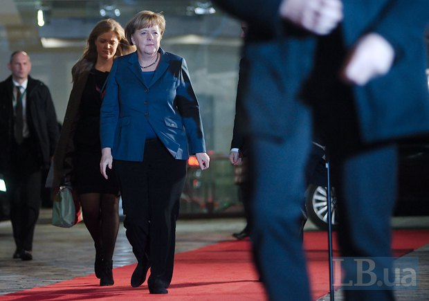Канцлер Германии Ангела Меркель,