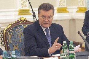 """Президент возмущен тем, что протестующие бросают в """"Беркут"""" коктейли Молотова"""