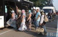 Крестный ход пересел в автобусы