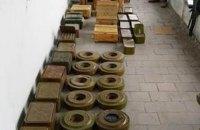 В Северодонецке нашли боеприпасы, похищенные боевиками во время захвата города в 2014 году