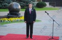 Янукович призывает к объединению под государственным флагом ради счастливого будущего