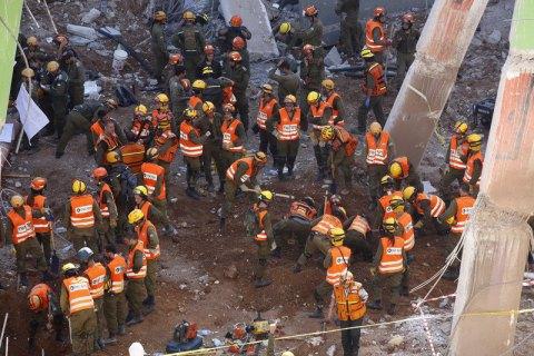 При обрушении здания вТель-Авиве умер один человек
