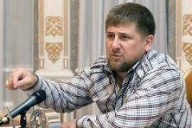 Кадыров подарил Януковичу кинжал и папаху
