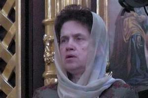 Людмила Янукович пришла послушать Патриарха Кирилла