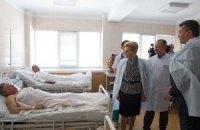 У лікарнях Дніпропетровська досі знаходяться 14 постраждалих від вибухів