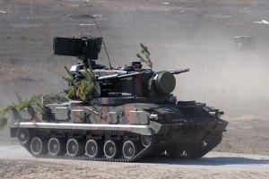Силы АТО у Славянска усилили танками