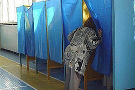 Выборы на Львовщине начались на полчаса позже